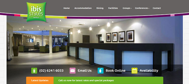 ibis Styles Canberra Eaglehawk Screenshot