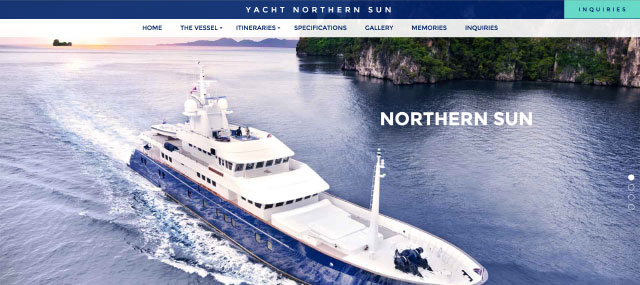 Yacht Northern Sun Screenshot