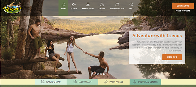 Kakadu Tours & Travel Screenshot