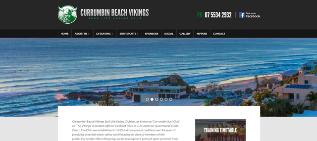 Currumbin Surf Club Screenshot